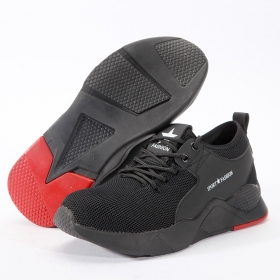 Mens Safety Shoes, Anti-Smash and Anti-Stab, Lightweight and Breathable Protective Shoes for Construction Site Work